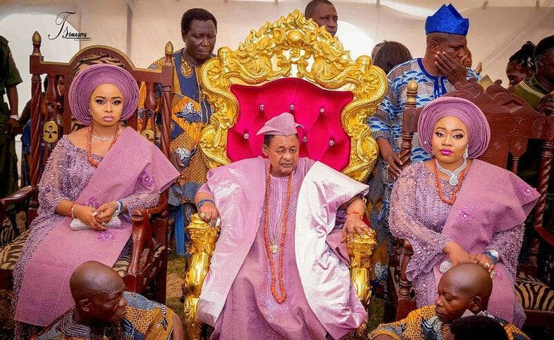 Photo of Alaafin Of Oyo, Oba Adeyemi christens his two sets of twins with lavish party (photos)