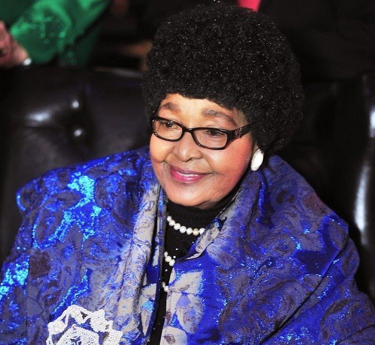 Photo of Winnie Mandela, ex-wife of Nelson Mandela has died at the age of 81