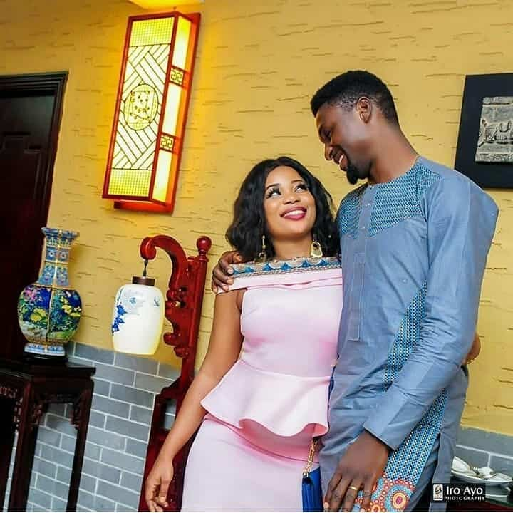 Photo of Adeniyi Johnson appreciates new wife Seyi Edun, for being all that Toyin Abraham wasn't