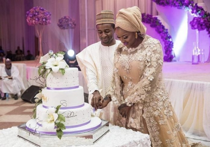 Photo of Aisha Buhari hosts grand dinner reception for newly wed brother (photos)