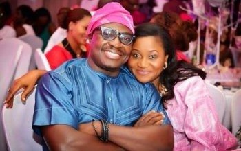 Photo of Ali Baba and his wife, Mary Akpobome celebrate 12th wedding anniversary in style