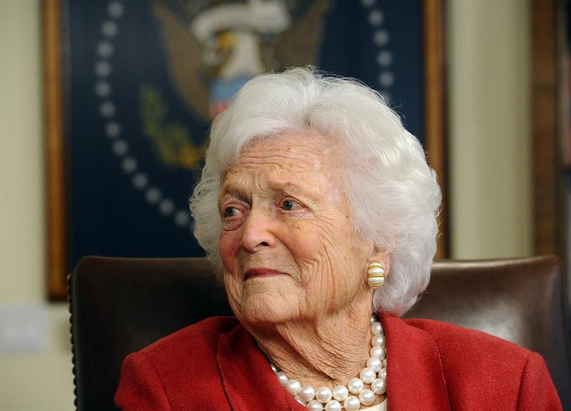 Photo of Former US First Lady, Barbara Bush is dead at 92