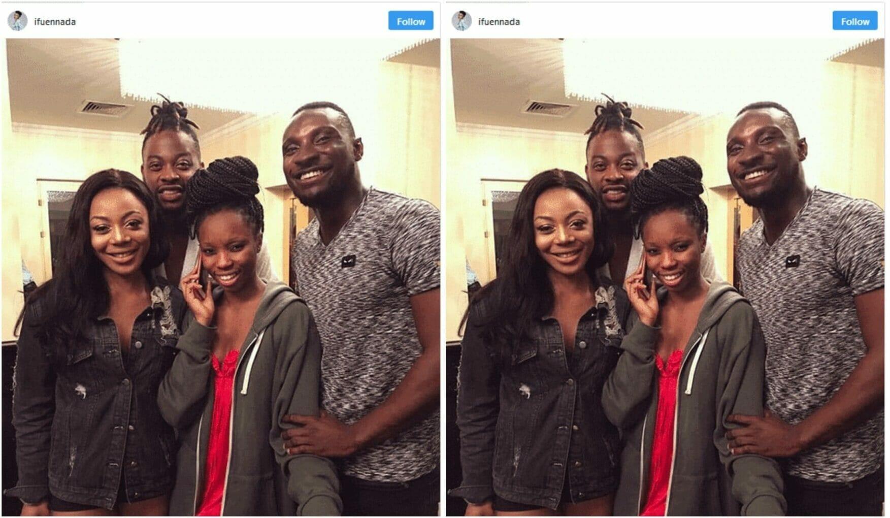 Big Brother Naija Evicted housemates hangout