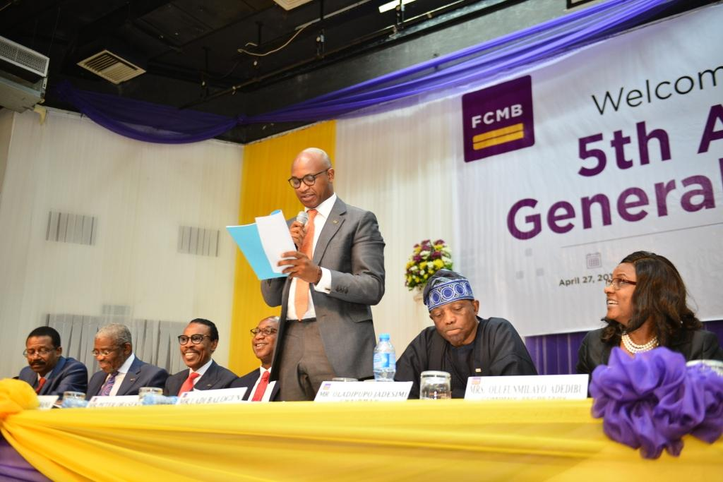 Photo of FCMB assures of enhanced performance as shareholders approve results at AGM