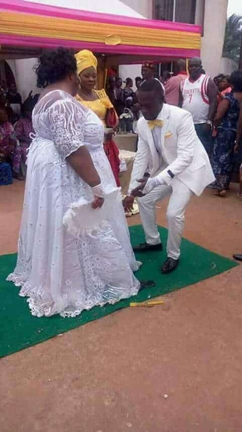 Photo of Plus-sized lady weds her man in style (Photos)