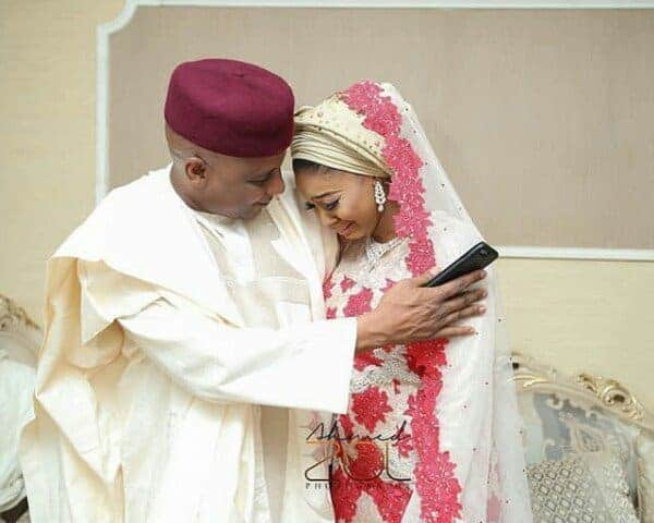 Photo of Checkout the moment a father consoled his daughter as she cried during her wedding