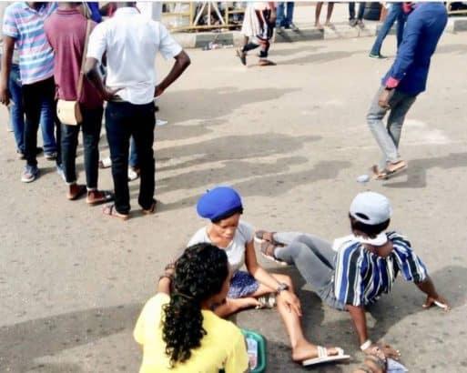Adekunle Ajasin University students following fee hike