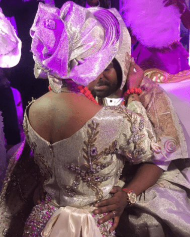 Photo of First photos from the traditional wedding of Actor Gabriel Afolayan and his bride, Adebanke