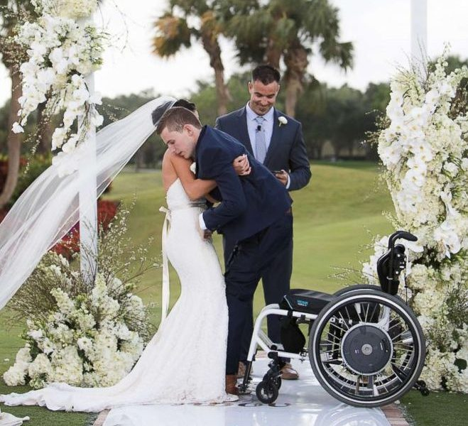 This Groom Surprised His Bride With A Wedding Just Days: Unbelievable: Groom Walks Down Aisle On His Wedding Day