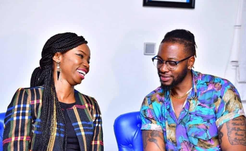Photo of BBNaija 2018: Ex housemates, Teddy A and Bambam hang out in style (photos)