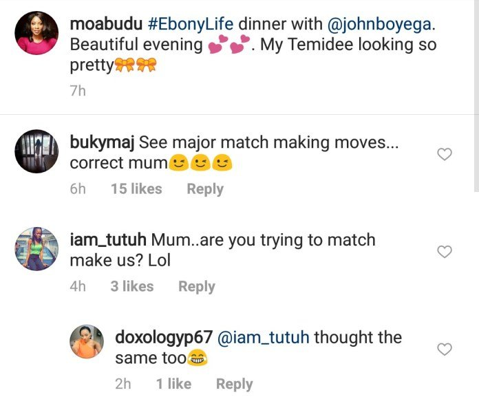 Mo Abudu match John Boyega