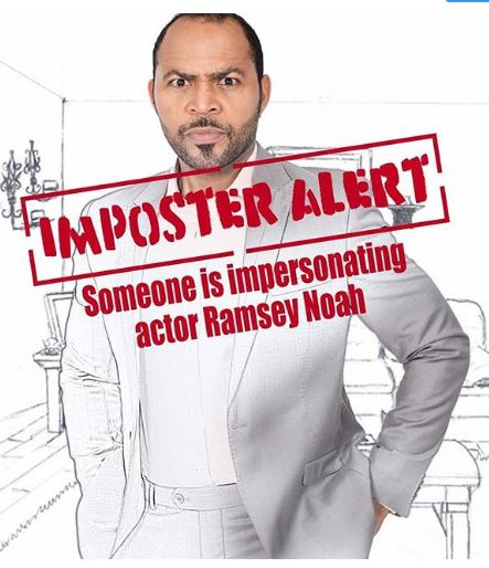 Photo of Actor Ramsey Nouah raises alarm over 'his crazy twin' (photo)