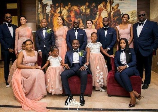Photo of More photos from the white wedding of Xerona Duke and DJ Caise