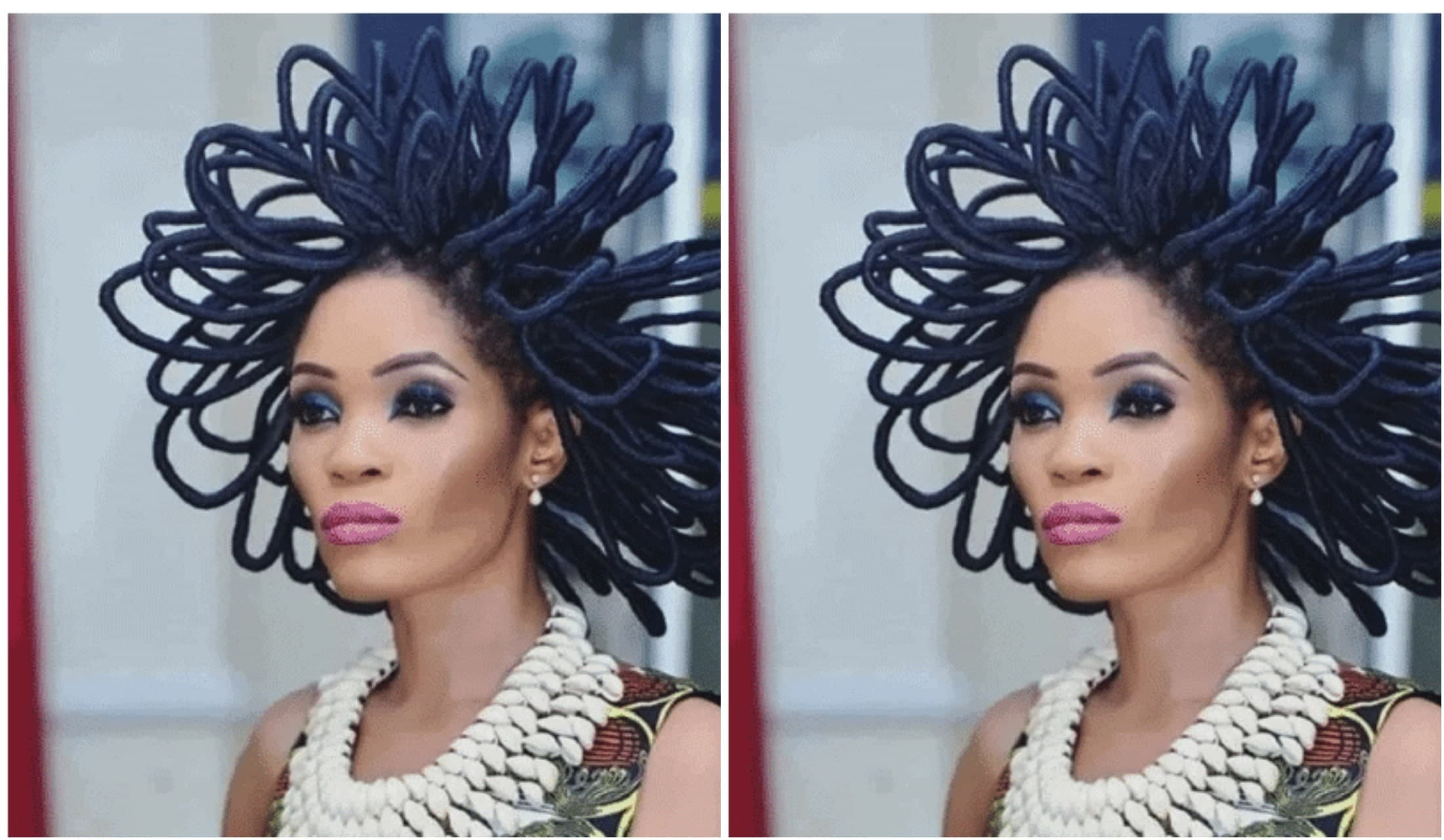 Nigerian model with N40 million hair, Chika Lann
