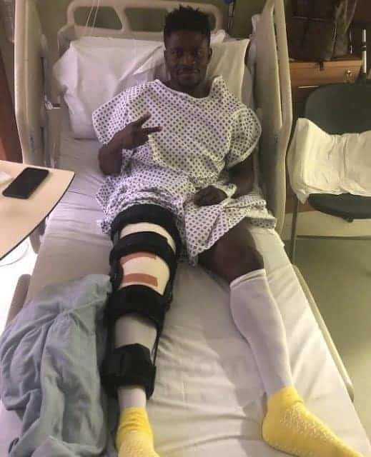 Photo of Football star Obafemi Martins undergoes successful surgery in UK (Photo)