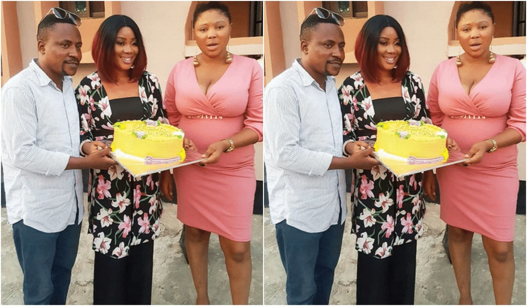 Segun Ogunbe's two wives
