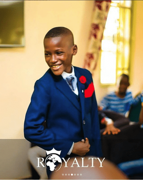 Photo of Step father's church throws 2face Idibia's son, Zion, a surprise birthday party (photos)