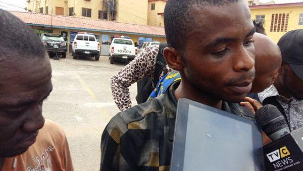 Photo of Yahoo boy kidnaps his mentor for denying him his share