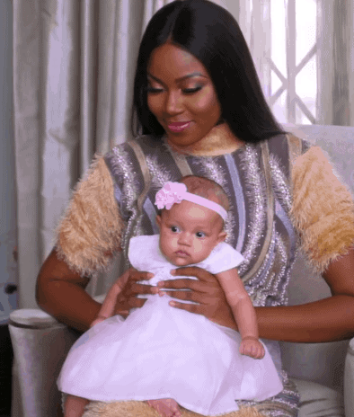 Photo of Yvonne Nelson finally shows off her daughter and she is so cute (photos)