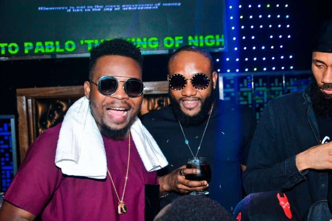 Photo of Olamide, Phyno, E-money Turn up for Kcee's birthday party (Photos)
