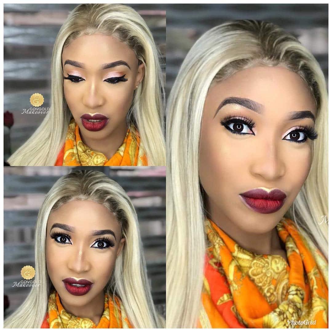 Photo of Preach the gospel with boldness, Tonto Dikeh says as she shares new makeup photos