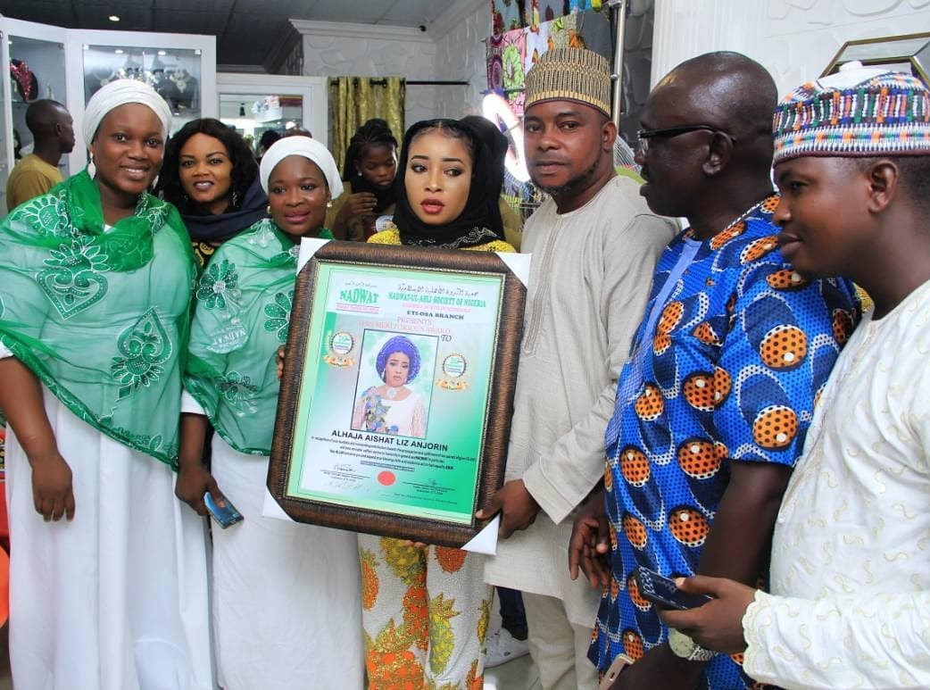 Photo of Actress Liz Anjorin bags Islamic Chieftaincy title years after renouncing Christianity