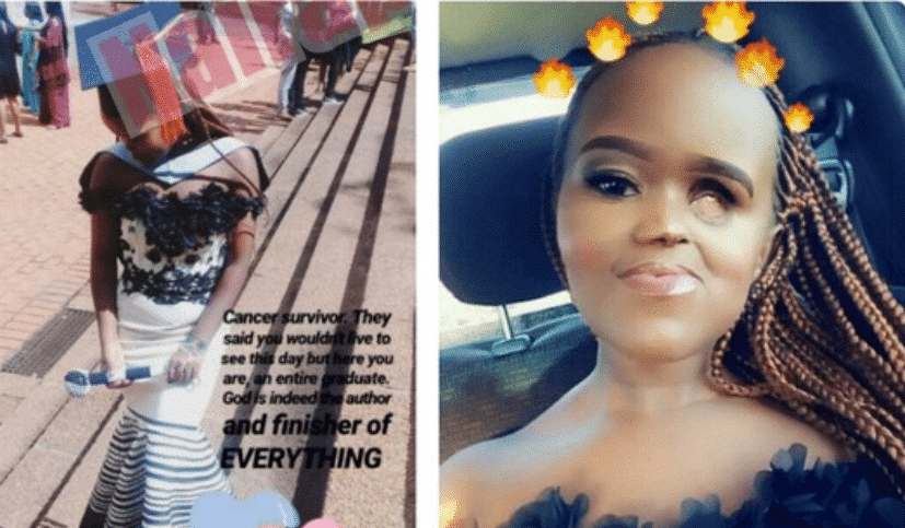 Disabled South African lady graduates despite discouragement from lecturer