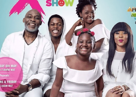 2face Idibias Daughter Isabella To Feature In New Family Series The Mr X