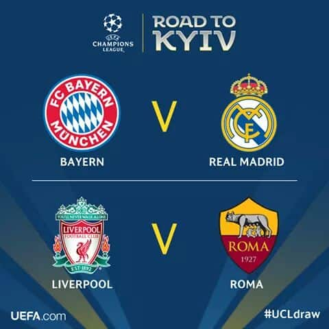 Photo of UEFA champions league semi-final draw (See Result)