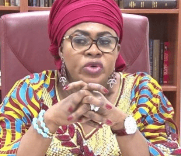 Photo of Stella Oduah reacts to the inclusion of her name in FG's looters list