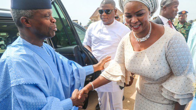 Osinbajo, Amaechi, Gida Mustapha, Others At Senator Binta Garba's Birthday Thanksgiving