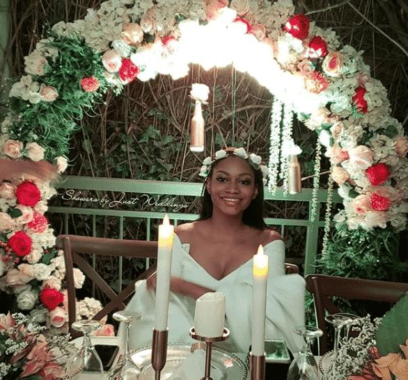 Photos from the bridal shower of Donald Duke's daughter, Xerona Duke