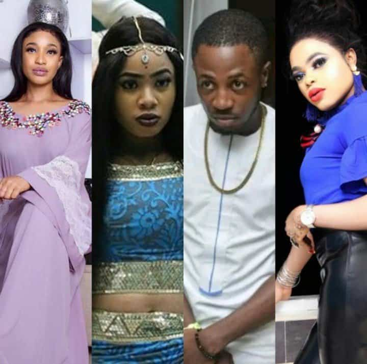 Tonto Dikeh and Bobrisky offer Nina IPhone X and gifts to shame Tunde Ednut