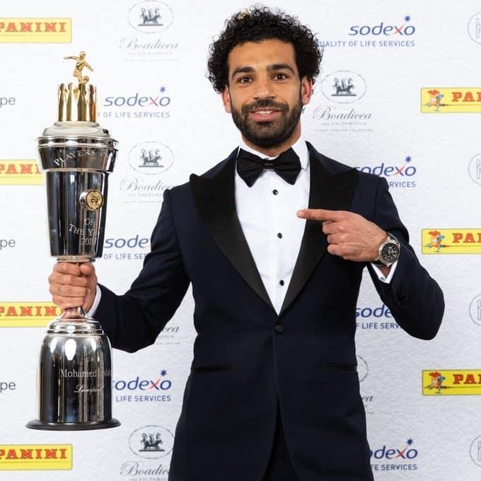Mohamed Salah wins PFA player of the year award