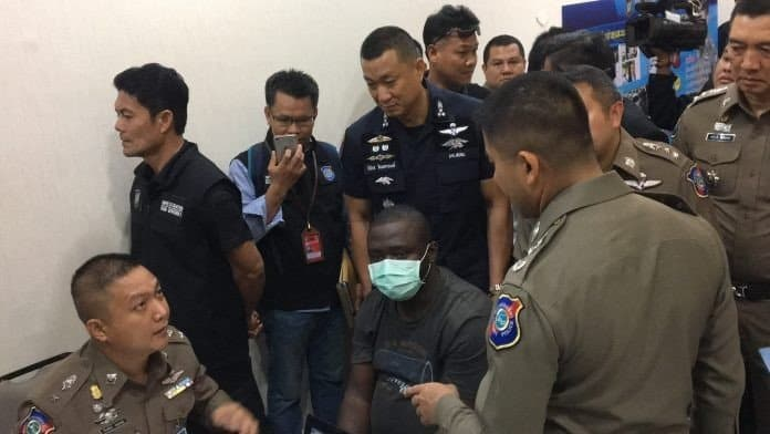 Photo of Nigerian Yahoo boy arrested in Thailand for scamming Thai women