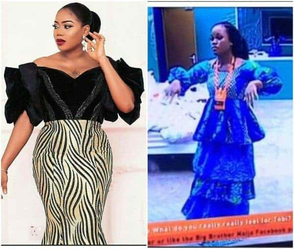 Photo of Toyin Lawani slams Cee-C for tearing a dress allegedly made by her, calls her disrespectful