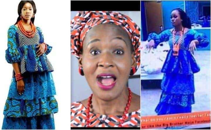 Photo of #BBNaija: Kemi Olunloyo reacts to the dress given to Cee-C by Payporte, calls it ugly