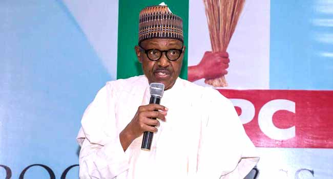 Photo of Breaking News: Buhari declares intention to run for second term (pictures)