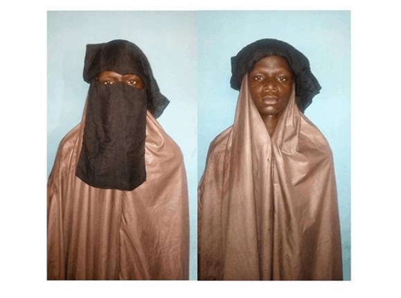Photo of Police arrest suspected kidnappers disguised as women in hijab in Katsina