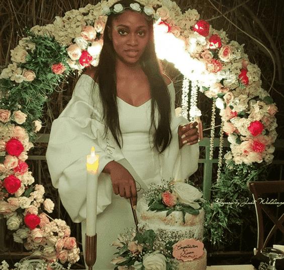 Photos from the bridal showers of Donald Duke's daughter, Xerona Duke