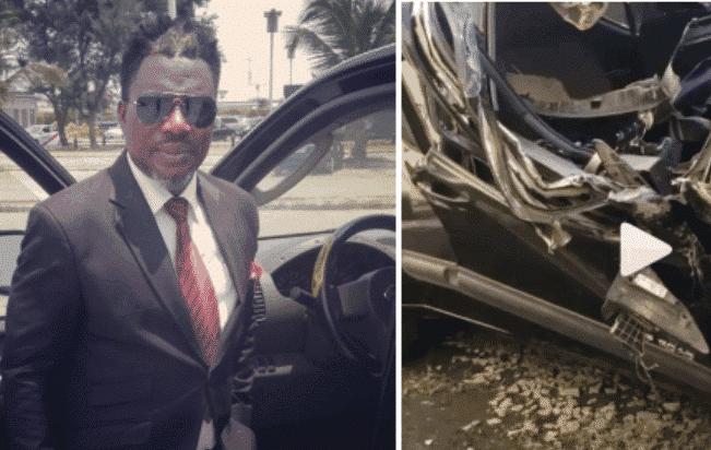 DJ Gosporella is grateful to God after surviving a terrible accident