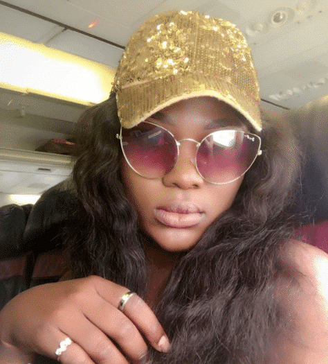 Actress Monica Friday shares picture of vehicle used by one-chance fraudsters