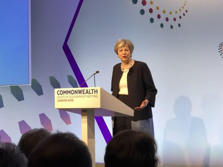 Theresa May calls for same-sex marriages in Nigeria, others