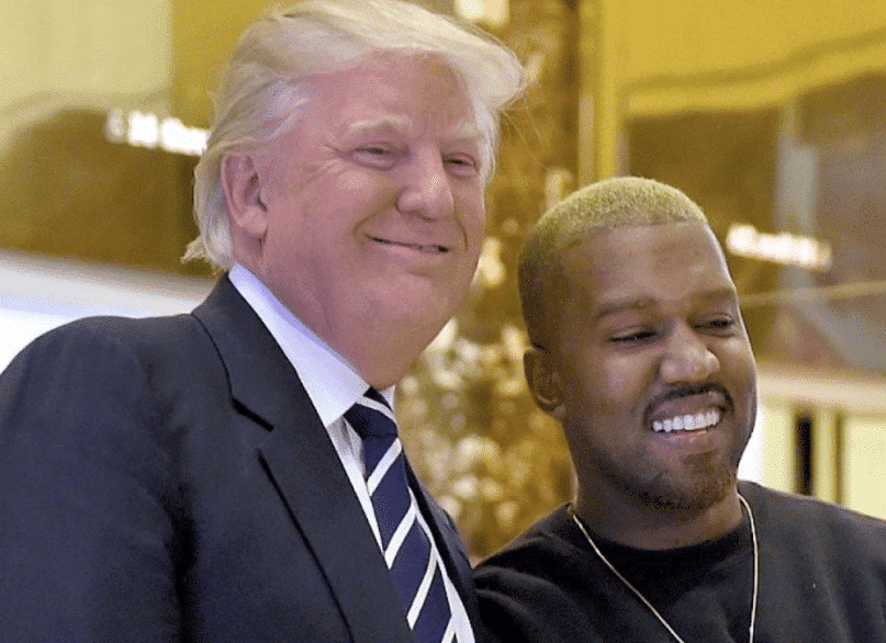 Photo of Trump tweets in support of Kanye West who got several backlash from celebrities