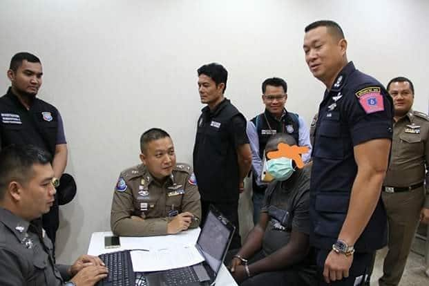 Nigerian Yahoo boy arrested in Thailand for scamming Thai women