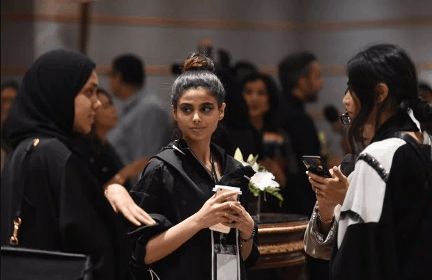 Photo of Photos from first Saudi Arabia fashion week where men and photographers were not allowed