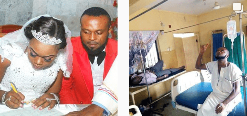 Photo of Actor Kevin Uvo reveals how he almost died 24hrs to his wedding (pictures)