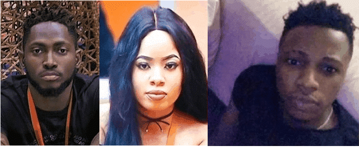 BBNaija: Nina's boyfriend, Collins, calls her a cheap cheating Olosho