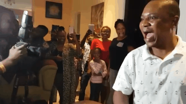 Photo of Tope Alabi throws surprise birthday party for her husband (photos & video)