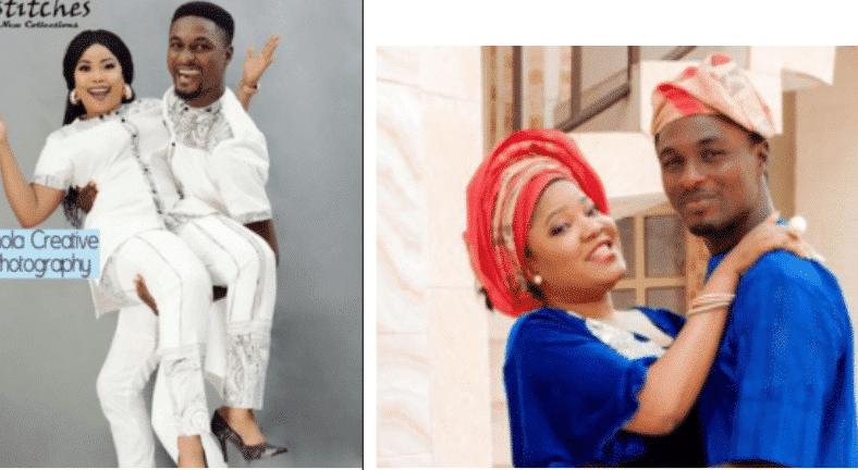 Photo of Toyin Abraham's ex, Adeniyi Johnson and Seyi Edun release pre-wedding photos
